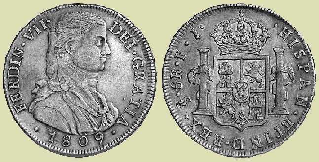 Santiago (Chile) 18098 RealesFJ Francisco Rodriguez Brochero & Juan Maria de Bobadilla