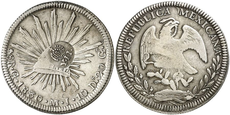 Mexican republic - Philippine Resealed Coin