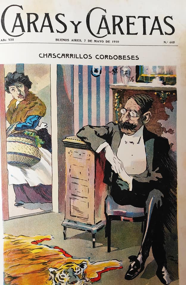 07-05-1910 Cao Luaces toon - The Best Galician - Argentine Cartoonist