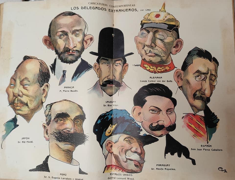 Cao Luaces Cartoon - Spain: Juan Pérez Caballero y Ferrer and Others