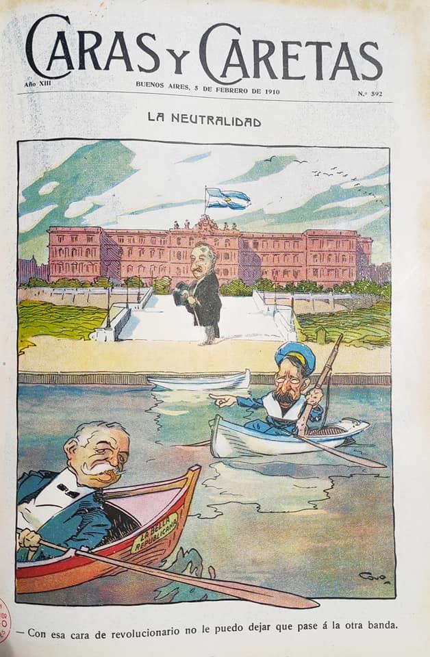 Caras y caretas Cao Luaces toon - The Best Galician - Argentine Cartoonist