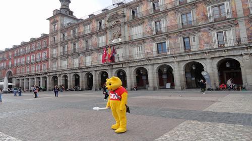 Three days madrid Plaza Mayor