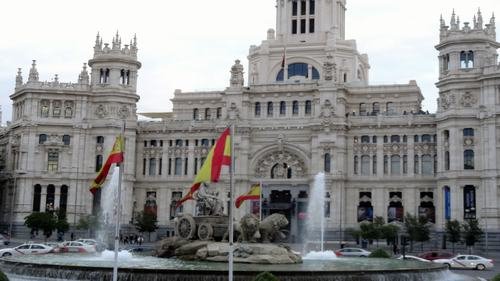Cibeles Fountain & Building Three days madrid