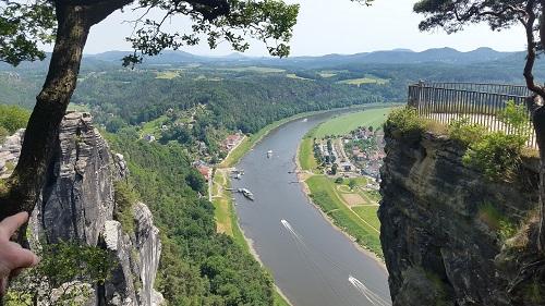 Saxon Switzerland National Park - Kurort Rathen- Bastei