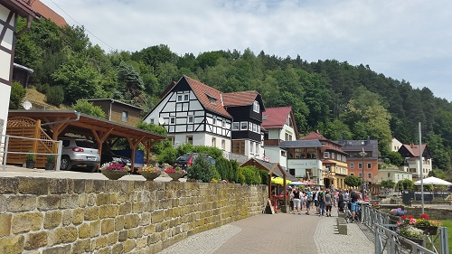 Kurort Rathen Bastei Germany