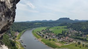 The Picturesque Village of Kurort Rathen and its Natural Park