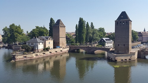 Travel Guide Strasbourg France and your Ancient Treadwheel crane