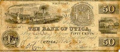 Spanish Pillar Dollar Bank of Utica