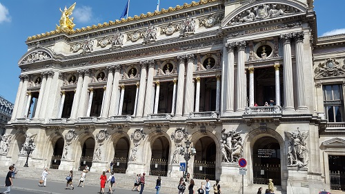 Opera garnier paris in three days first day