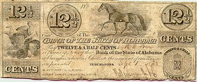 12 & Half cents Spanish Pillar Dollar: Influence on American Currencies - Bank Tennessee 50