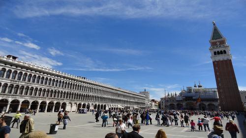 Venice Falling in Love - St. Mark's Square