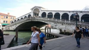 Rialto Bridge Venice travel two days