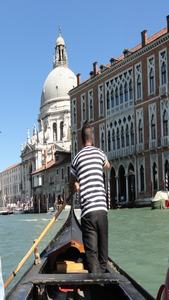 the crossing of the great channel in traghetto. Falling in Love with Venice from The First Day