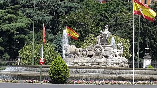 cibeles fountain Three days Madrid: First day