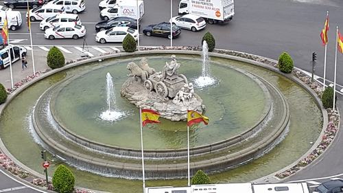 cibeles fountain Three days Madrid: First day