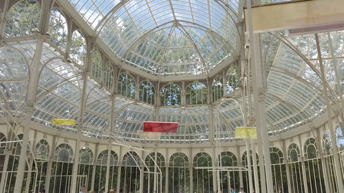 Crystal palace Parque del retiro- Three days madrid