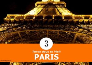 Best Travel Website: paris in three days first day/