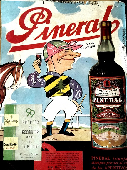 Vintage Ads in Spanish PINERAL