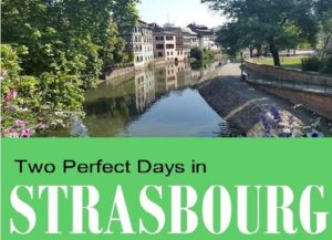 One day in strasbourg france