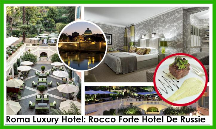 Roma Luxuey Hotel -Rocco Forte Hotel De Russie - Book the Suit Executive Now