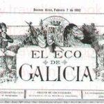Eco de Galicia of Buenos Aires Newspaper