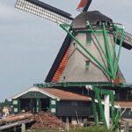 ⚓ One day in Oil Windmills Zaanse Schans