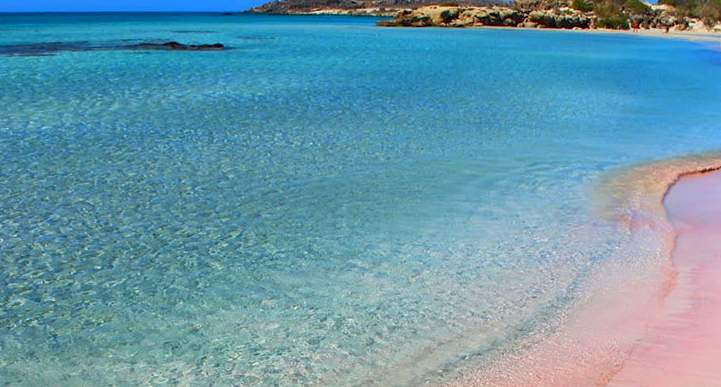 elafonisi Another best pink beach