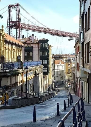 Portugalete  & The Hanging Bridge - Walking Bilbao