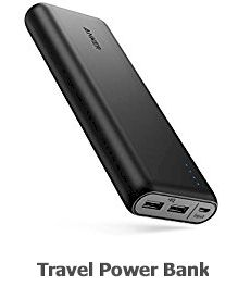 Travel Power Bank -20 most useful travel accessories in 2019