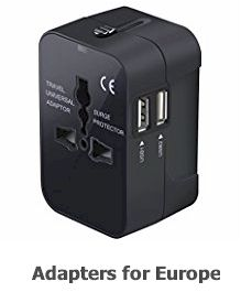 20 most useful travel accessories in 2019- Adapter 220v