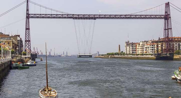 Portugalete & The Hanging Bridge - Walking Bilbao