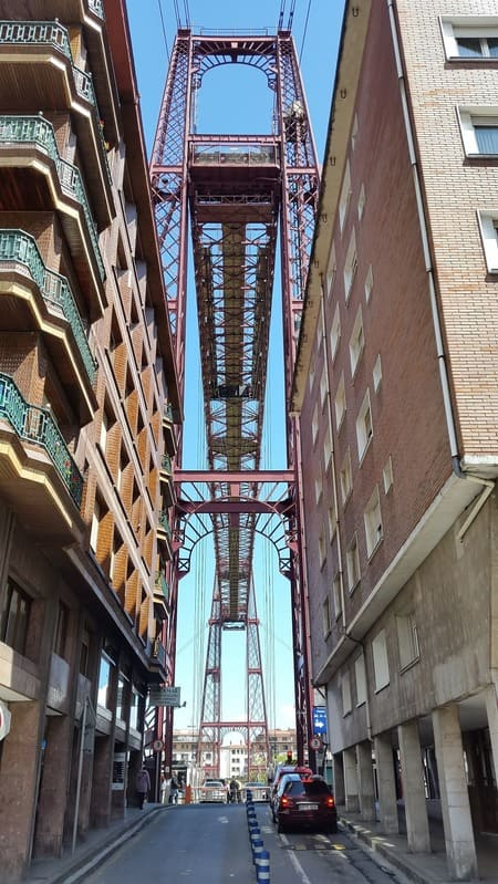 #Portugalete  & The Hanging Bridge -Museum Guggenheim #Bilbao #Spain #travel #LOve #Photo #photoftheday