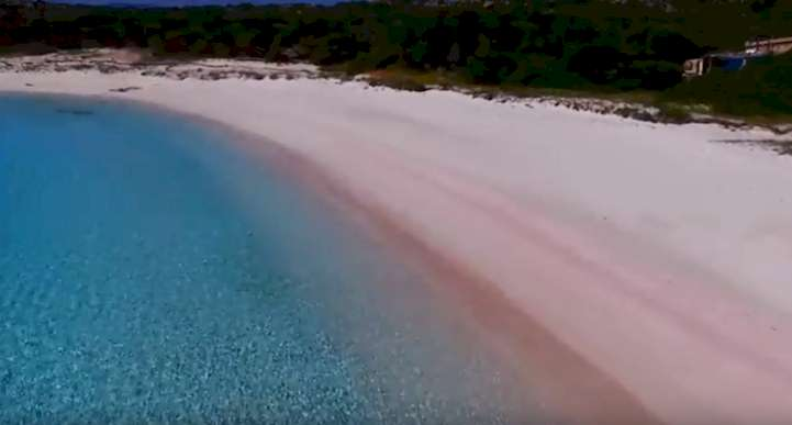 Spiaggia Rossa, Sardinia -Italy Another best pink beach