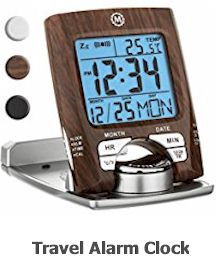 20 most useful travel accessories in 2019- Travel Clock