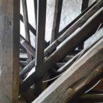 Medieval Treadwheel Crane in Strasbourg's Cathedral