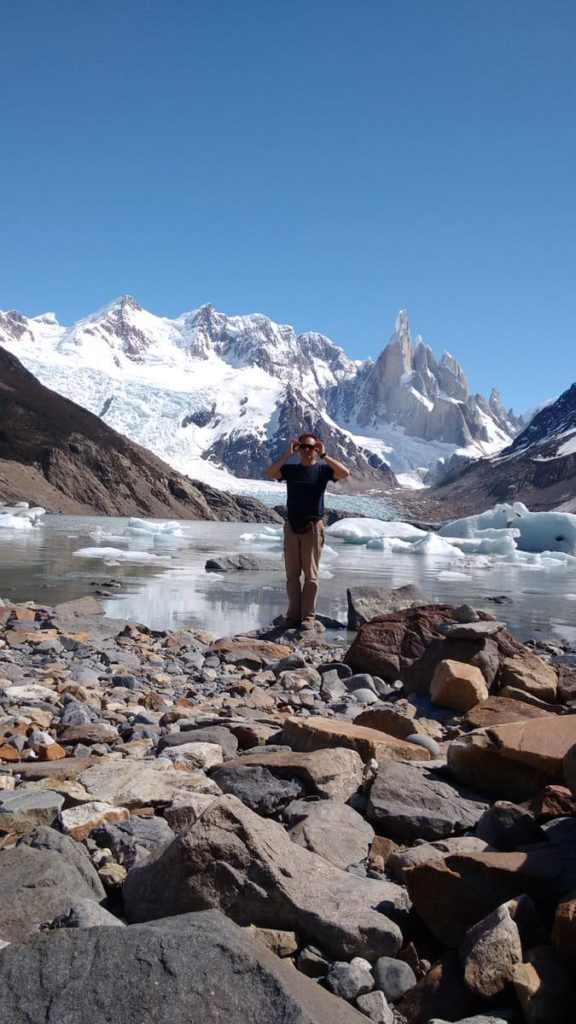 Hiking Amazing Mountain Torre & Laguna Torre Glacier at The End of the World