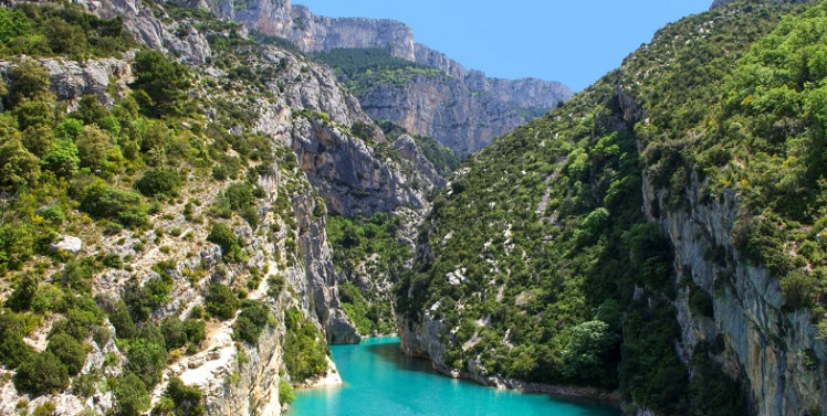 the discovery theGorge of The Verdon: