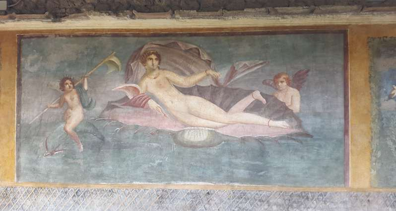 the Vettii House: Pompeii - Italy