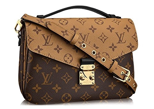 LV Handbags & Bags 2019-2020- Monogram Canvas Pochette Metis Cross Body Handbag