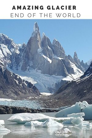 Traveling & Cook -Amazing Glacier Argentina
