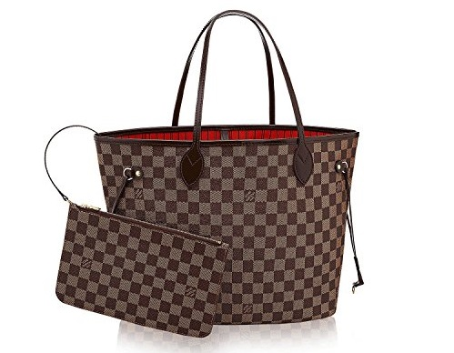 Neverfull Damier Ebene Canvas - Elegance, Charm and Style: Louis Vuitton