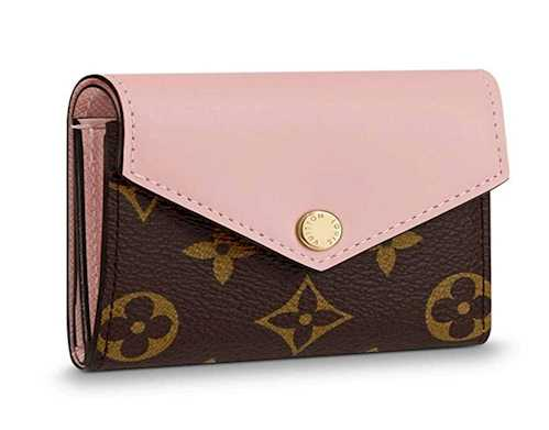 Louis vuitton Wallets Monogram Canvas Zoe Rose Ballerine