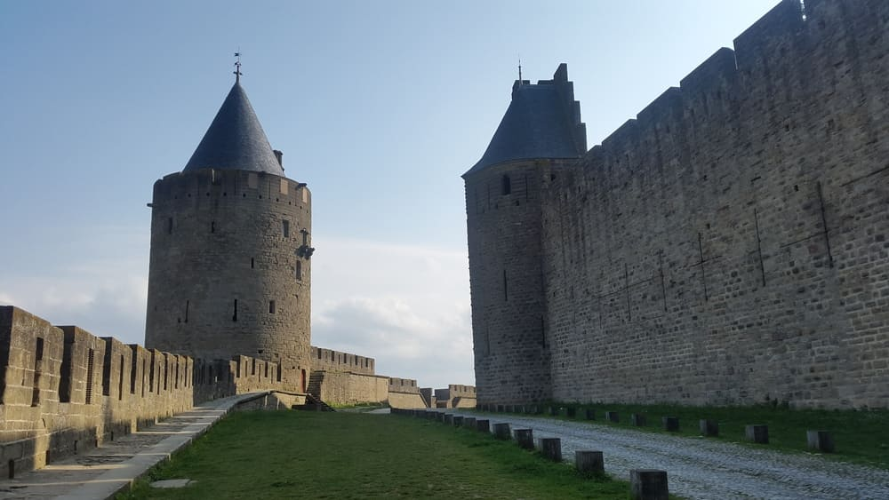 One of the guard and defense towers of the first perimeter