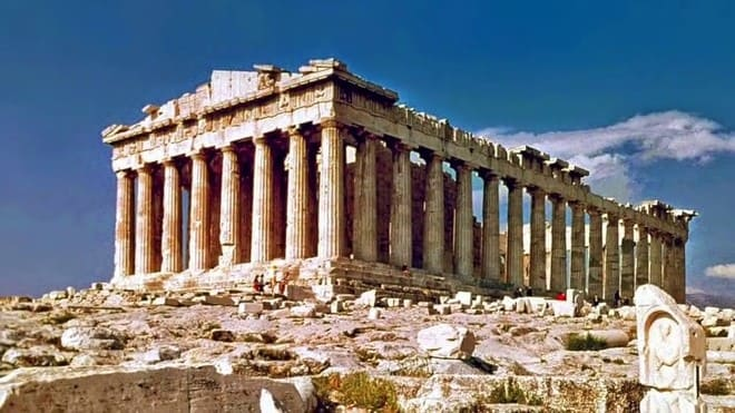 Acropolis - Atenas -- Tourism in Ancient Greece and Rome