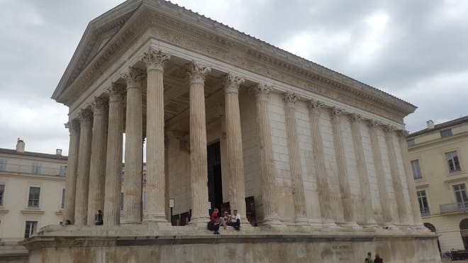 Temple of Juno - Nimes - (France) Tourism in Ancient Greece and Rome