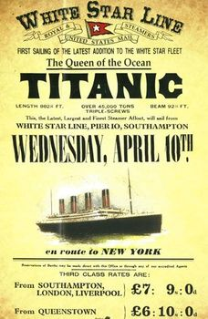 Titanic Advertising & Travel at the Beginning of the 20th Century
