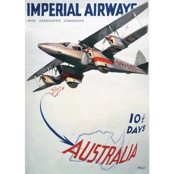 imperial airways Advertising & Travel at the Beginning of the 20th Century