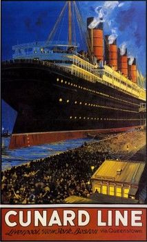 Cunard Advertising & Travel at the Beginning of the 20th Century