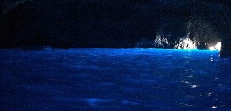 Blue Grotto . Capri: Island to Fall in Love. Unforgettable Charm and Pleasure