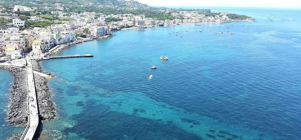 view from Aragonese Castle : Ischia Island to Fall in Love. Unforgettable Charm and Pleasure